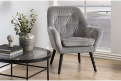 Alizza - Accent Chair (Grey)