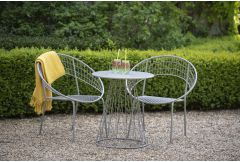 Argentat - Garden Bistro Dining Set - Grey (LAST ONE!)