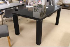 Black Glass Table - Clearance