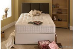 Hand Tufted 1500 Pocket - Platform Top 2 Drawer Divan Set
