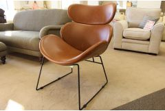 Coda - Accent Chair (Vintage Brandy) - Clearance