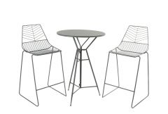 Garden Bar Set - Grey
