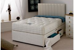 Hand Tufted 2000 Pocket - Platform Top 4 Drawer Divan Set