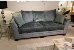 Hockley - 4 Seat Sofa & Storage Stool - Clearance