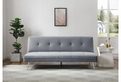 Jade - 'Click Clack' Sofa Bed in Grey