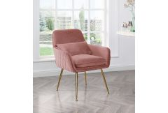 Jules - Armchair in Blush