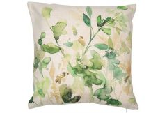 Meadow Leaf Print - Cushion