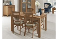 Rialto Oak - Small Table & 4 Chairs