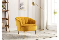 Stella - Accent Chair in Apricot