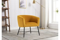 Zara - Accent Chair in Apricot