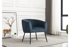 Zara - Accent Chair in Navy